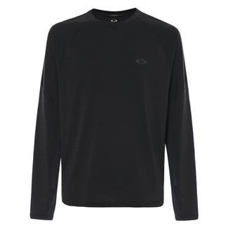 Oakley Long Sleeve Tech Knit T-Shirt Blackout Dark Heather