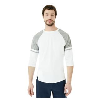 Oakley Method 3/4 Raglan Shirt Athletic Heather Gray