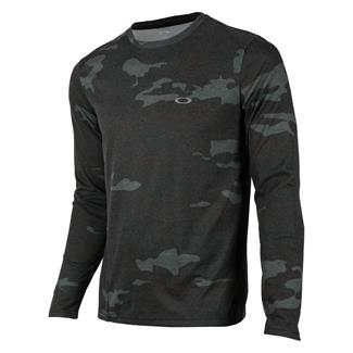 Oakley Long Sleeve Link T-Shirt Blackout Camo