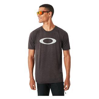 Oakley SO-Mesh Ellipse T-Shirt Blackout Light Heather