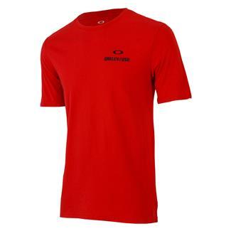 Oakley SC-USA Flag T-Shirt Red Line