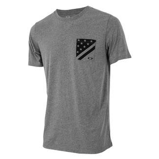 Oakley 50-Flag Pocket T-Shirt Athletic Heather Gray