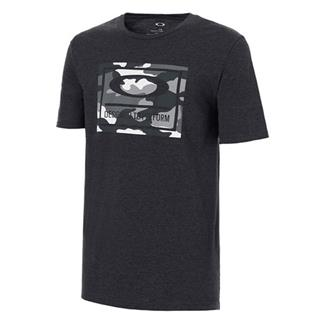 Oakley 50-DTP Camo Box T-Shirt Blackout Light Heather