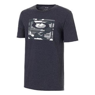 Oakley 50-DTP Camo Box T-Shirt Fathom Light Heather