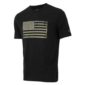 Oakley SC-Mil Flag T-Shirt Blackout