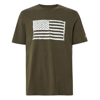 Oakley SC-Mil Flag T-Shirt Dark Brush