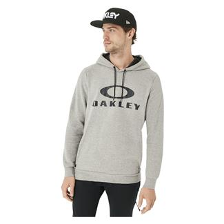 Oakley Lockup PO Hoodie Athletic Heather Gray
