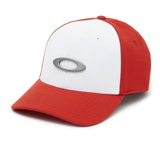 Oakley Tincan Cap White / Red