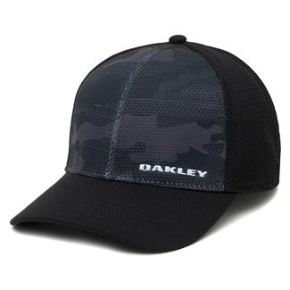 Oakley Silicon Bark Trucker Print 2.0 Hat Black