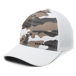 Oakley Silicon Bark Trucker Print 2.0 Hat Rye