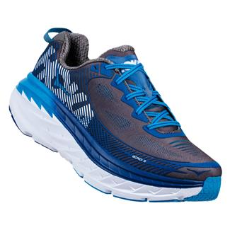 Hoka One One Bondi 5 Charcoal Gray / True Blue