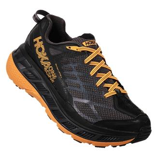 Hoka One One Stinson ATR 4 Black / Kumquat