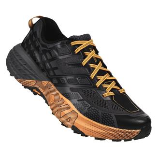 Hoka One One Speedgoat 2 Black / Kumquat