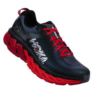 Hoka One One Arahi 2 Black / High Risk Red