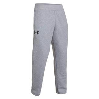Under Armour Rival Fleece Pants True Gray Heather / Black