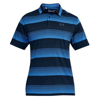 Under Armour Playoff Polo Academy / Academy / Rhino Gray