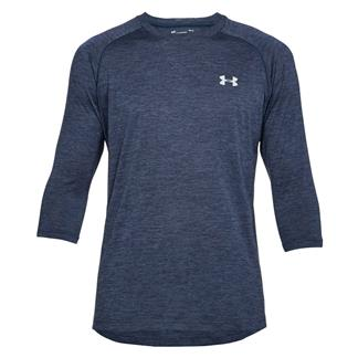 Under Armour Tech 3/4 Sleeve T-Shirt Academy / Steel
