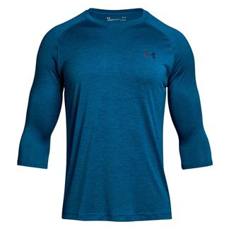 Under Armour Tech 3/4 Sleeve T-Shirt Moroccan Blue AFS / Deprecated / Academy