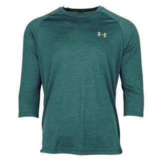 Under Armour Tech 3/4 Sleeve T-Shirt Tourmaline Teal AFS / Deprecated / Tin