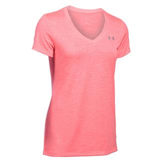 Under Armour Tech Twist V-Neck T-Shirt Brilliance / Metallic Silver