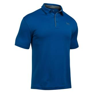 Under Armour Tech Polo Royal / Graphite / Graphite
