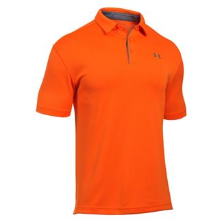 Under Armour Tech Polo Team Orange / Graphite / Graphite