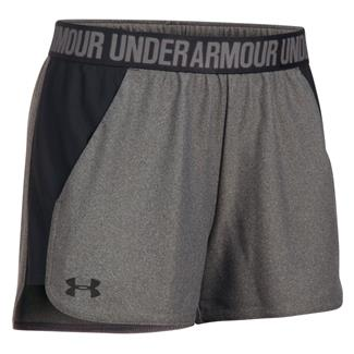Under Armour Play Up 2.0 Shorts Carbon Heather / Black / Black