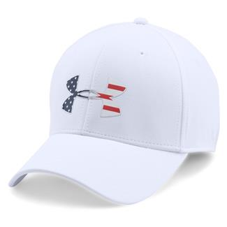 Under Armour Freedom Low Crown Hat White / Midnight Navy