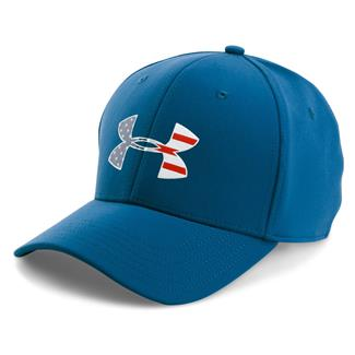 Under Armour Freedom Low Crown Hat Blackout Navy / Silver / White
