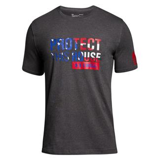 Under Armour Protect This House 2.0 T-Shirt Charcoal Medium Heather / Red