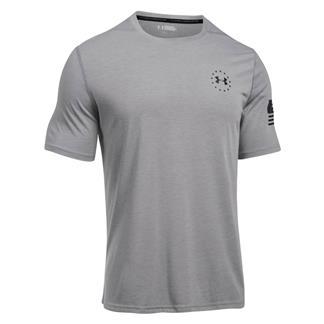 Under Armour Freedom Siro T-Shirt True Gray Heather / Black
