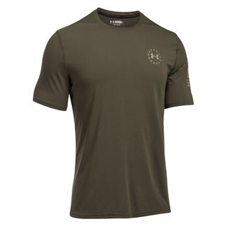 Under Armour Freedom Siro T-Shirt Marine OD Green / Desert Sand