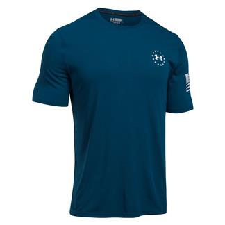 Under Armour Freedom Siro T-Shirt Blackout Navy / White