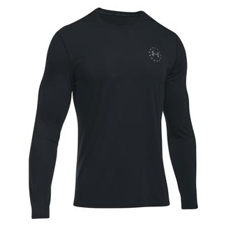 Under Armour Freedom Siro Long Sleeve T-Shirt Black / Graphite