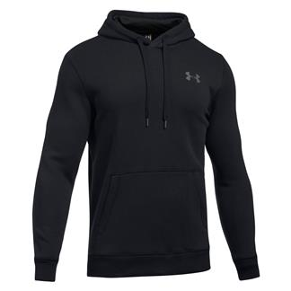 Under Armour Rival Fitted Hoodie Black / Graphite