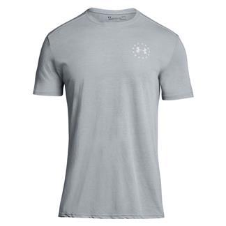 Under Armour Freedom Streaker T-Shirt Steel / Blackout Navy