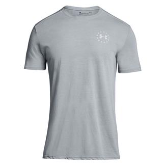 Under Armour Freedom Streaker T-Shirt Steel / Blackout Navy