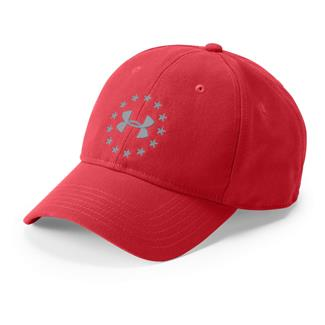 Under Armour Freedom 2.0 Hat Red / Overcast Gray