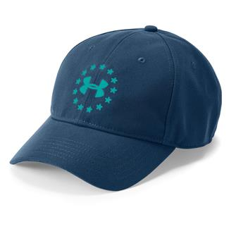 Under Armour Freedom 2.0 Hat Blackout Navy / Teal Punch