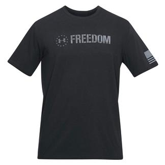 Under Armour Freedom Chest T-Shirt Black / Steel