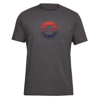 Under Armour Freedom Circle T-Shirt Charcoal Medium Heather / Red