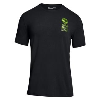 Under Armour Freedom By Land T-Shirt Black / Graphite