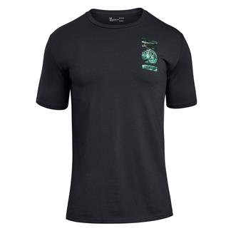 Under Armour Freedom By Sea T-Shirt Black / White