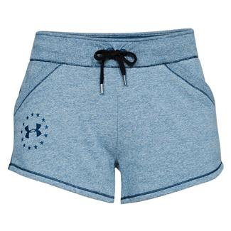 Under Armour Freedom Threadborne Shorts Blackout Navy / Blackout Navy