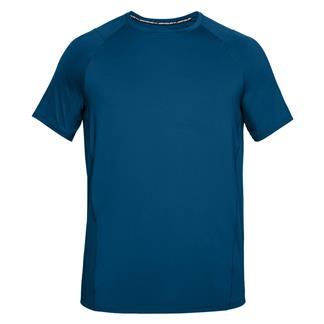 Under Armour MK1 T-Shirt Moroccan Blue AFS / Deprecated / Stealth Gray
