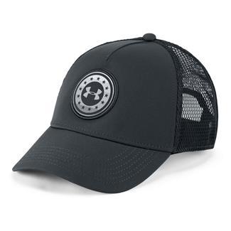 Under Armour Freedom Trucker Hat Anthracite / Anthracite
