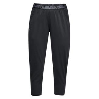 Under Armour Play Up Capri Pants Black / Black / Metallic Silver