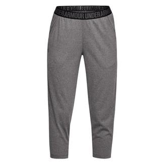 Under Armour Play Up Capri Pants Carbon Heather / Black / Metallic Silver