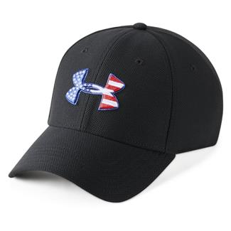 Under Armour Freedom Blitzing Hat Black / White / Red