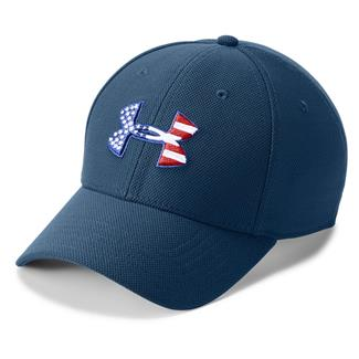 Under Armour Freedom Blitzing Hat Blackout Navy / Red / White